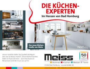 Küchen-Experten im Herzen von Bad Homburg - das neue Küchenstudio bei Meiss