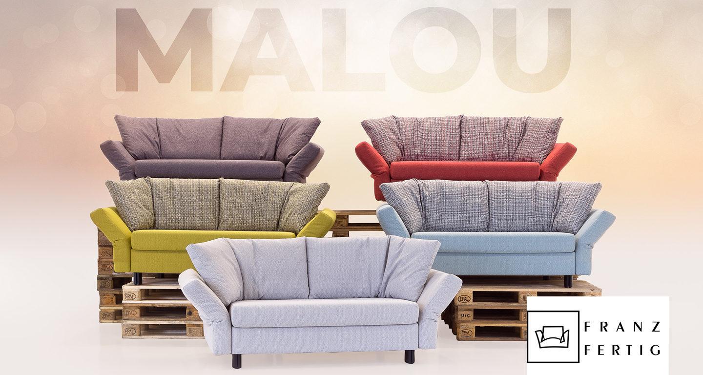 Sofa Malou Farbvielfalt von Franz Fertig bei Möbel Meiss