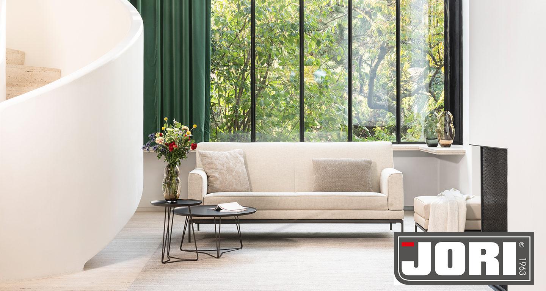 Sofa Glove Pure von Jori in weiß
