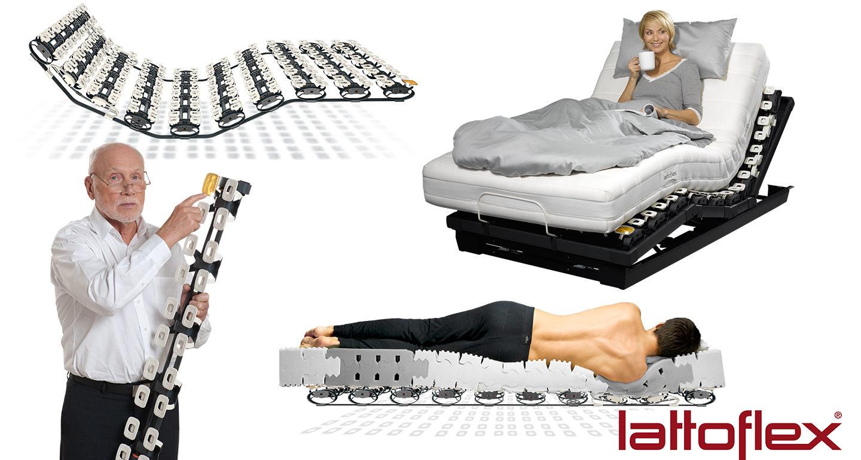 Lattoflex Liegesysteme Veranschlaulichung bei Möbel Meiss