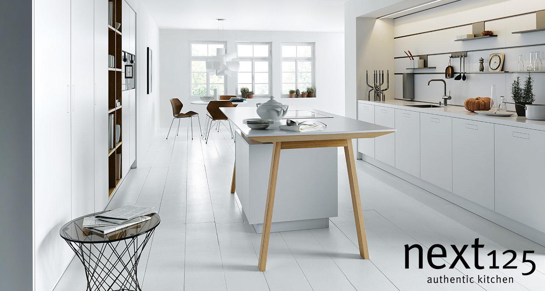 Next125 Küche NX800 in weiß bei Möbel Meiss