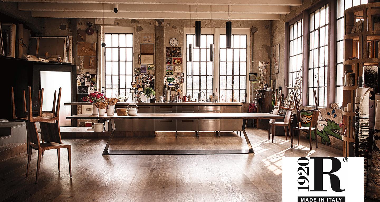 Küche mit Esstisch von Riva1920 bei Möbel Meiss