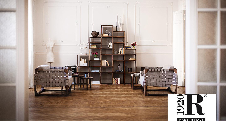 Riva1920 Regal und Stühle von Möbel Meiss