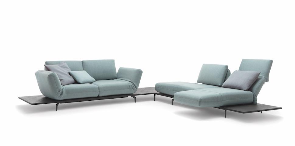 Rolf Benz Designsofa Aura bei Möbel Meiss