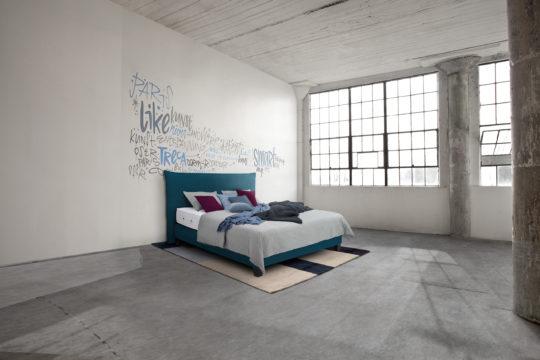 Treca Bett Smart in Farbe Bleu bei Möbel Meiss