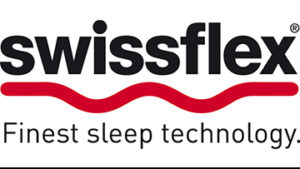 Logo vo Swissflex finest sleep technology bei Möbel Meiss