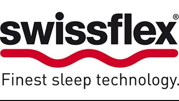 Logo vo Swissflex finest sleep technology bei Möbel Meiss
