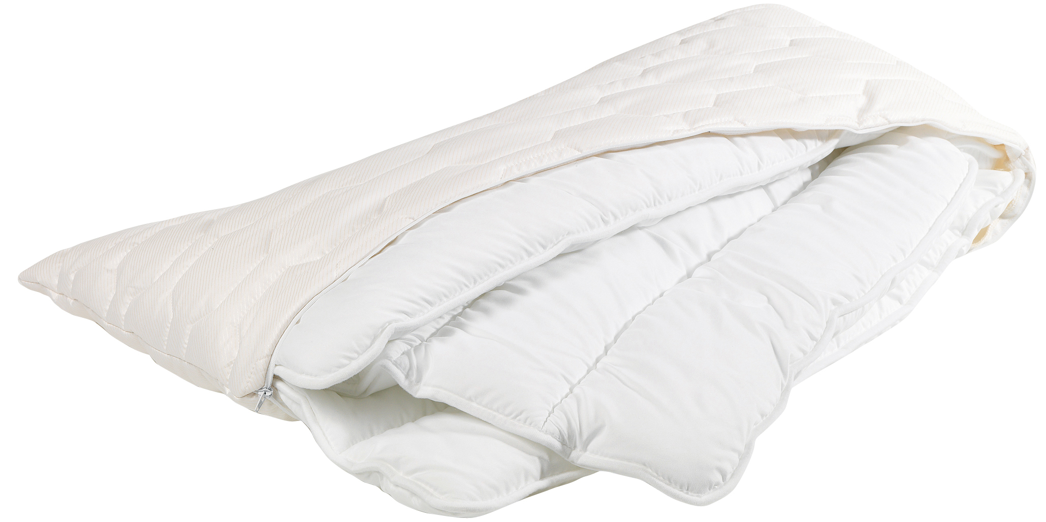 Traumina ergonomische Daune Kissen Premium Faser